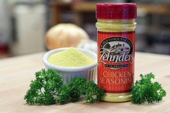 Zehnder's exclusive chicken seasoning
