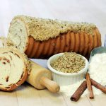 Zehnder's Frosted Cinnamon Walnut Log