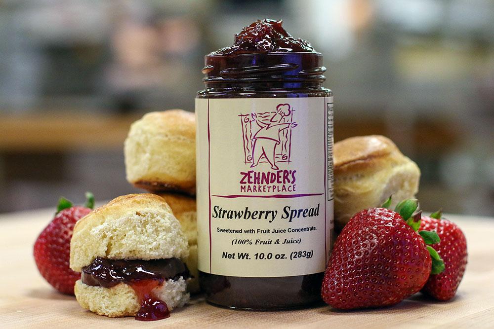 Zehnder's No Sugar Added Spreads