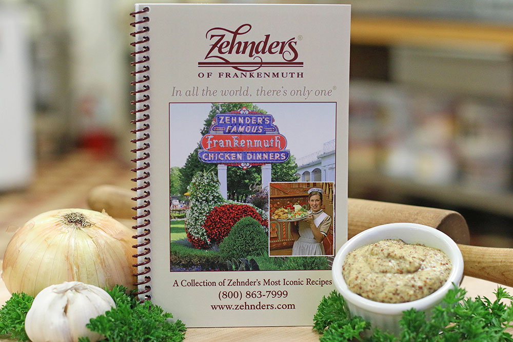 Zehnder's Iconic Recipes Cookbook