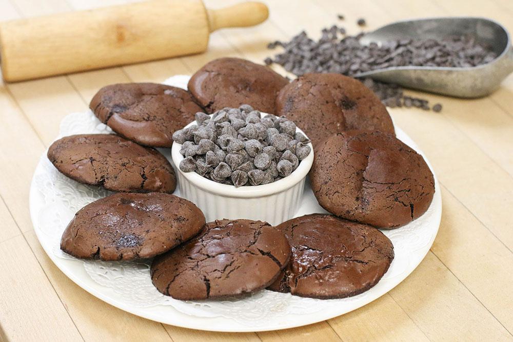 Gluten Free Double Chocolate Cookies