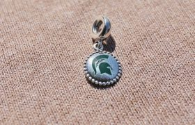 Michigan State Pandora Charm