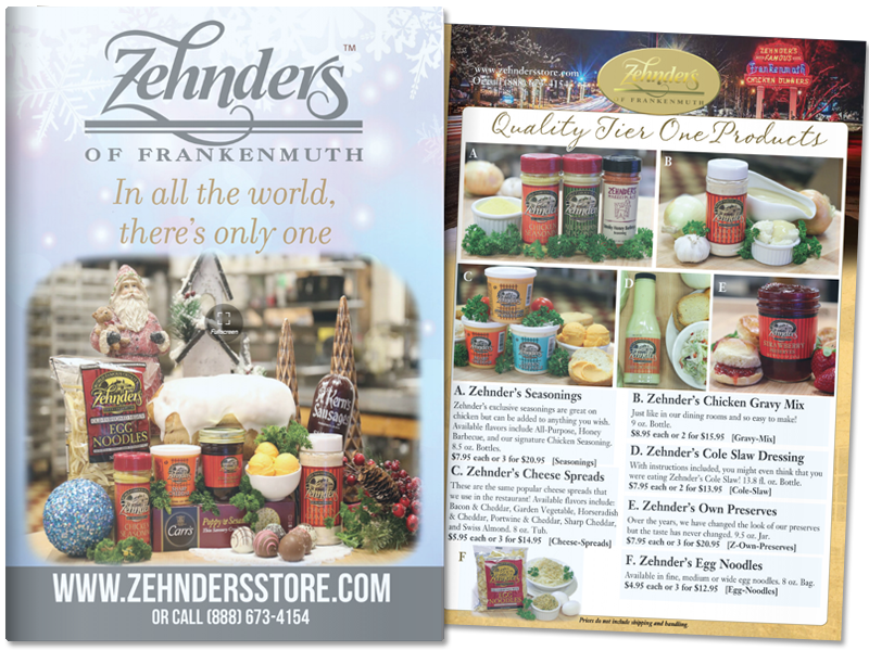 View Zehnder's 2019 Holiday Catalog